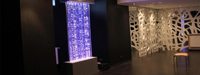 Самостоятельная конструкция пузырьковой колоннады