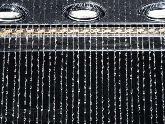 Водопад-дождевой занавес в Украине