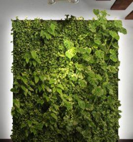 Система вертикального озеленения для частного дома