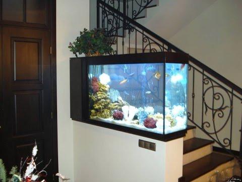 Изготовление аквариума в Харькове на заказ для дома