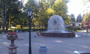 Водная система фонтана тематического уличного