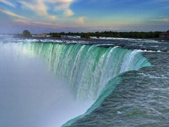 Ниагарский водопад как чудо природы